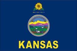 3' x 5' State of Kansas Flag
