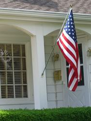 3' x 5' U.S. Flag Set with 6' Pole