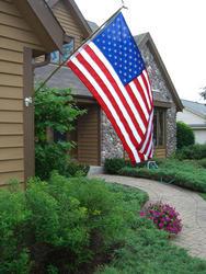 3' x 5' U.S. Deluxe Nylon Flag