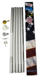 20' Flagpole Set (Includes Hardware)
