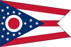 3' x 5' State of Ohio Flag