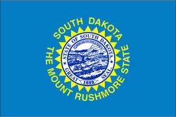 3' x 5' State of South Dakota Flag
