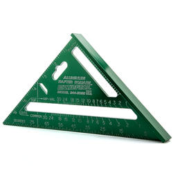 """Masterforce 7"""" Aluminum Rafter Square"""
