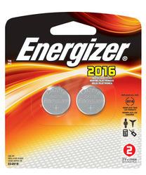 Energizer 3-Volt 2016 Lithium Watch/Electronics Batteries - 2-pk