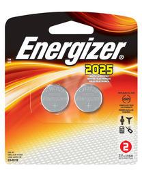 Energizer 3-Volt 2025 Lithium Watch/Electronics Batteries - 2-pk