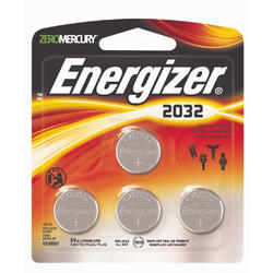 Energizer 3-Volt 2032 Lithium Watch/Electronics Batteries - 4-pk