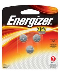 Energizer 1.5-Volt 357 Silver Oxide Watch/Electronics Batteries - 3-pk