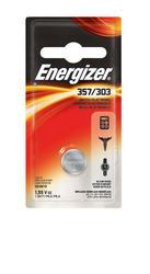 Energizer 1.5-Volt 303/357 Silver Oxide Watch/Electronics Battery
