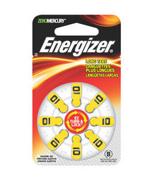 Energizer Size 10 Hearing Aid Batteries - 8-pk