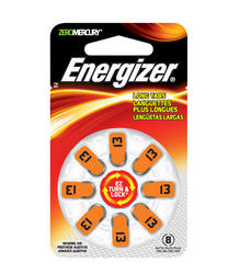 Energizer Size 13 Hearing Aid Batteries - 8-pk