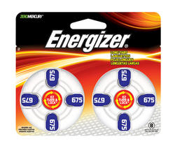 Energizer Size 675 Hearing Aid Batteries - 8-pk