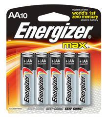 Energizer MAX AA Alkaline Batteries - 10-pk