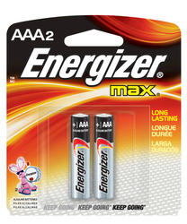 Energizer MAX AAA Alkaline Batteries - 2-pk