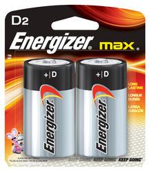 Energizer MAX D Alkaline Batteries - 2-pk