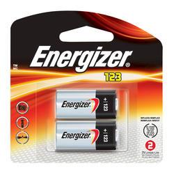 Energizer 3-Volt 123 Lithium Batteries - 2-pk