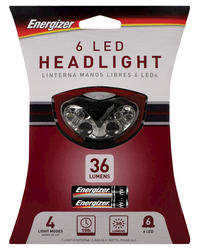 Energizer 6-LED Headlight with Batteries