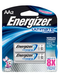 Energizer Ultimate Lithium AA Batteries - 2-pk
