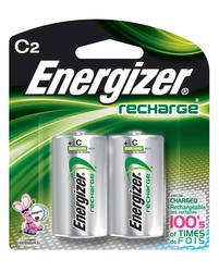 Energizer Recharge C Batteries - 2-pk