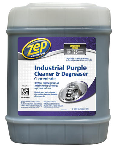 Zep Commercial Industrial Purple Cleaner Amp Degreaser