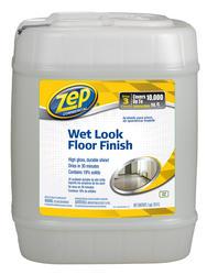 Zep Commercial Wet-Look Floor Polish 5-Gallon