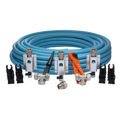 "Maxline Compressed Air Piping System 3/4"" Master Kit (100 ft, 3 Outlets)"