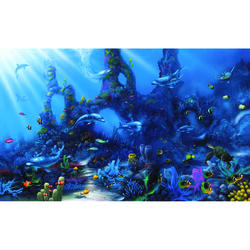 Dolphins Paradise Wall Mural