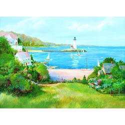 Lighthouse Cove Wall Mural