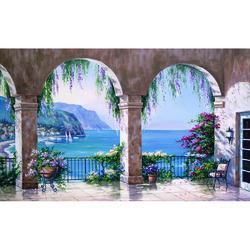 Mediterranean Arch Wall Mural