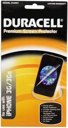 Duracell Premium Screen Protector for iPhone 3G/3Gs - 4-Pack