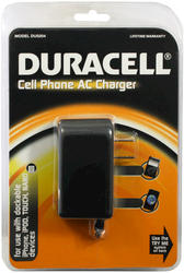 Duracell Cell Phone AC Charger for iPhones and iPods