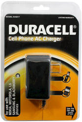 Duracell Cell Phone AC Charger for Most Cell Phones
