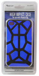 Wireless Gear Blue High-Impact Case for iPhone 4/4S