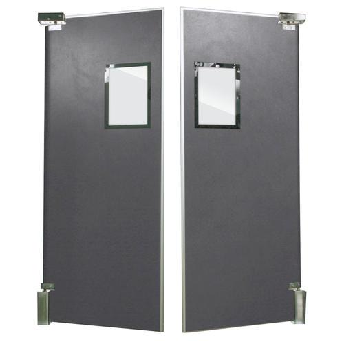 Aleco® ImpacDor® FS-500 5' x 8' Bi-Parting Panels Impact Door at ...