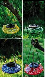 Glass Solar Hanging Lantern Assortment