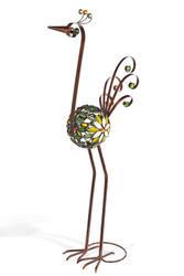 "36"" Bronze Filigree Bird"
