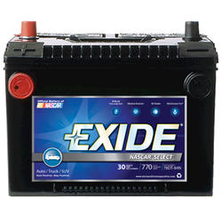 Exide®78DTS 30-Month Nascar Select Automotive Battery