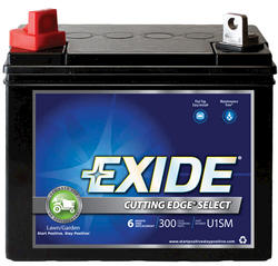 Exide GT-X 6-Month Cutting Edge Select Lawn and Garden Battery