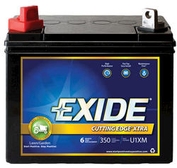 Exide®GT-XHD 6-Month Cutting Edge Xtra Lawn and Garden Battery