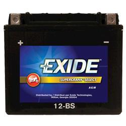 Exide 12-BS 6-Month SuperCrank Select PowerSport Battery