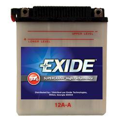 Exide 12A-A 6-Month  SuperCrank PowerSport Battery