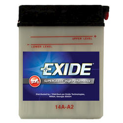 Exide 14A-A2 6-Month SuperCrank PowerSport Battery