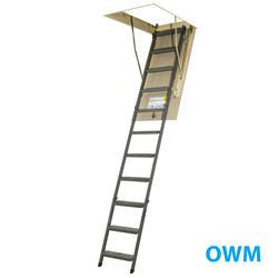 7'11''-10'1'' Steel Attic Ladder