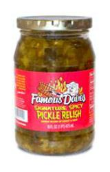 Famous Dave's Spicy Pickle Relish - 16 fl. oz.