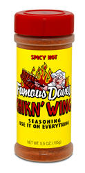 Famous Dave's Chicken Wing Seasoning - 5.5 oz.