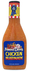 Famous Dave's Chicken Marinade - 12 fl. oz.