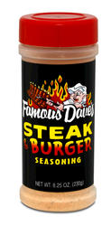 Famous Dave's Steak and Burger Seasoning - 8.25 oz.