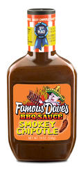 Famous Dave's Sassy Chipotle BBQ Sauce - 19 oz.