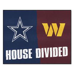 """Fanmats NFL House Divided Mat  34"""" x 45"""""""