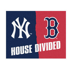 "Fanmats MLB House Divided Mat  34"" x 45"""