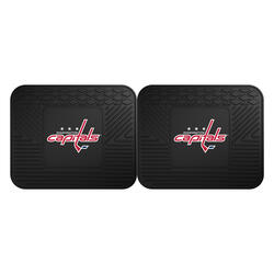 Fanmats NHL Backseat Utility Car Mat - 2 pack